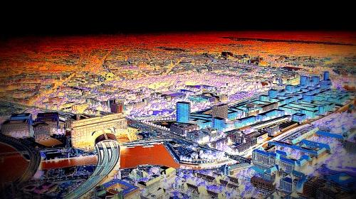 Visualisierung Baumassen Europacity Berlin