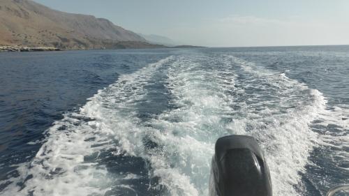 An der Südküste Kretas entlang Richtung Westen