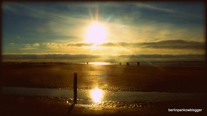 Am Strand von Rømø