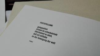 Ein Gedicht...