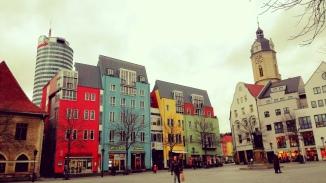 Am Markt: Stadtrundgang Jena vor der Lesung