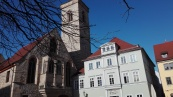 Erfurt begrüßt mich mit strahlendem Sonnenschein