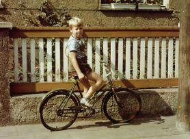 Mein erstes Fahrrad 1972