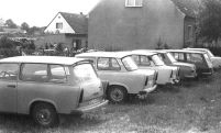 Familientreffen in Groß Schönebeck Mitte der 70er