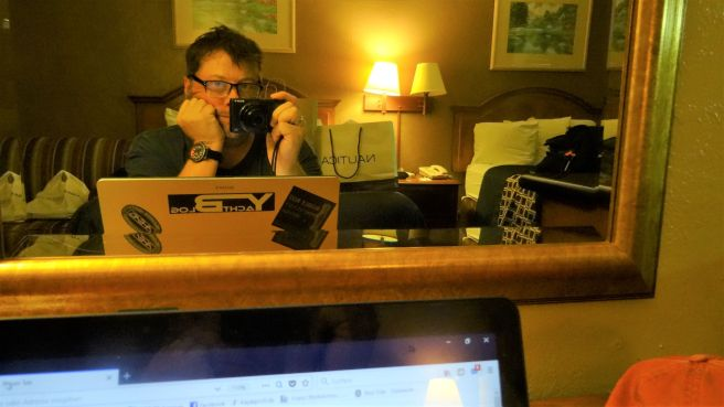 Travvelblogger Ole Pankow bei der Arbeit ;-)